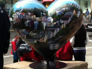 Union Square heart - Tony Bennett