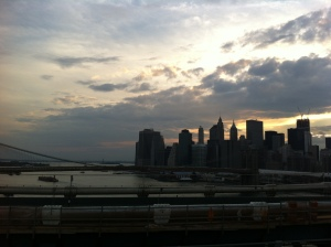 New York City from Brooklyn Bridge