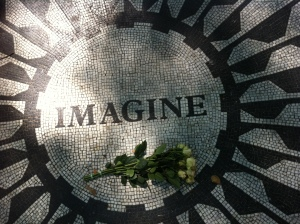 Imagine, Strawberry Fields, Central Park, New York City