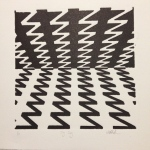 ZigZag photopolymer relief print